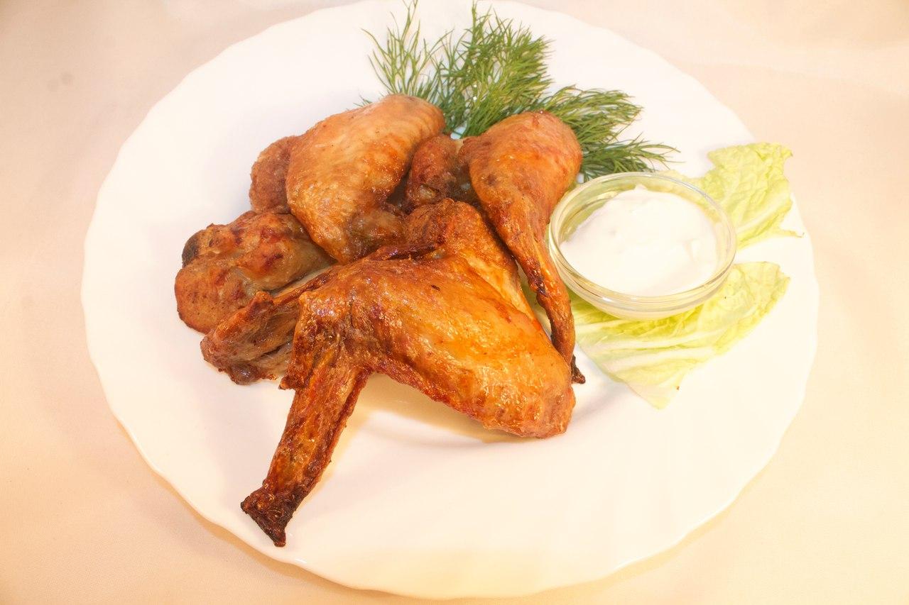 Украшение блюда из курицы фото